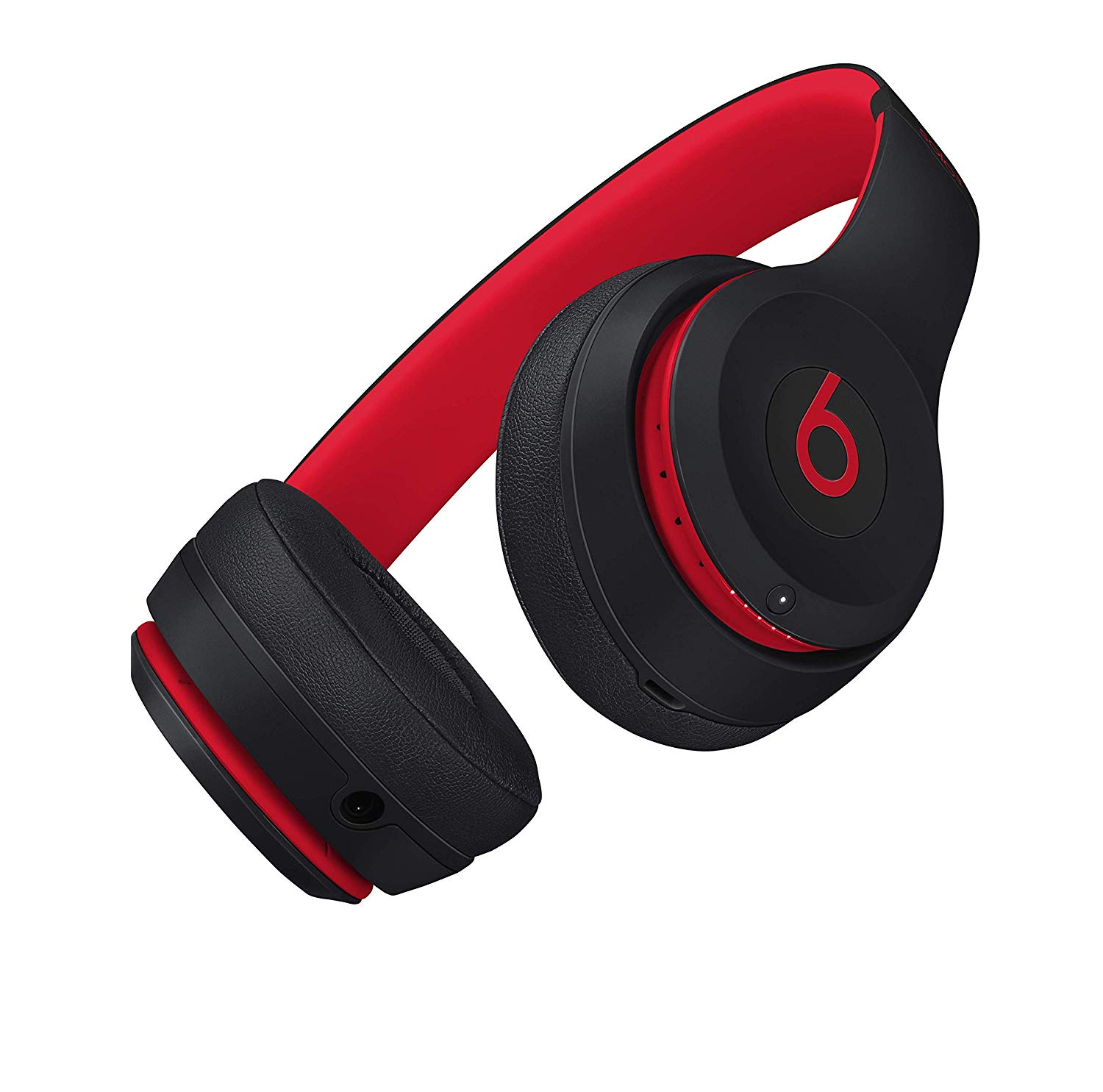 Black/Red - Solo3 Wireless Over-Ear Headphones | Leversage.com
